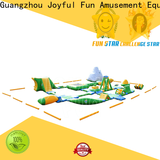 Joyful Fun lanes air inflatables for outdoor