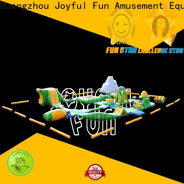 Joyful Fun lanes air inflatables for outdoor