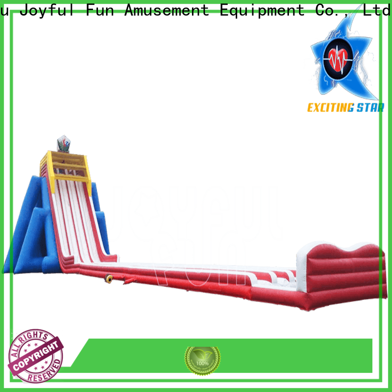 Joyful Fun professional giant inflatable water slide factory price for kids