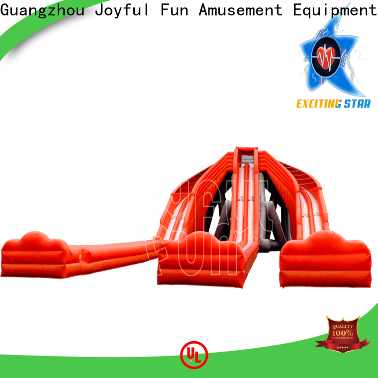 Joyful Fun lanes hippo water slide supplier for park