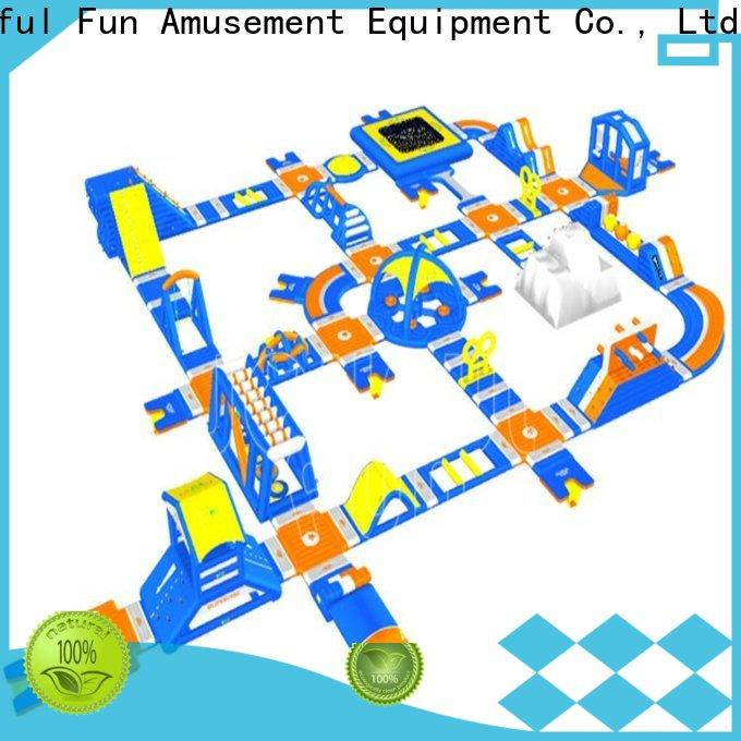 Joyful Fun hot selling giant inflatable water park from China for kids