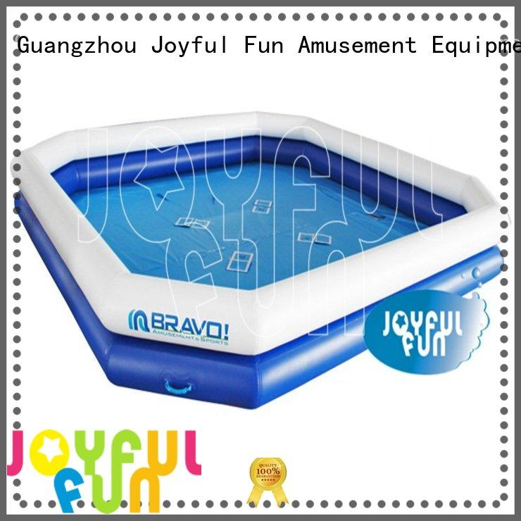 Joyful Fun double round inflatable pool factory price for kids