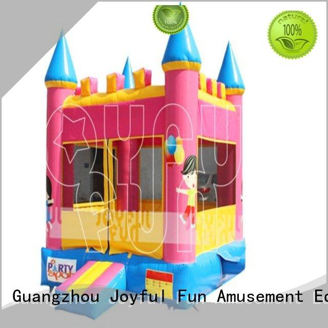 Joyful Fun reliable inflatable jumping castle from China for park
