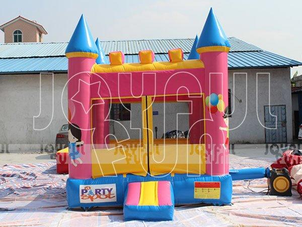 High Quality Small Pink Inflatable Bouncer Castle