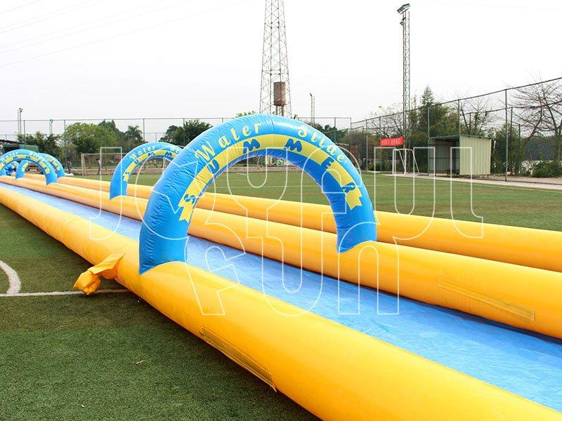 1000FT Long Slip Inflatable Water Slide Slide the City