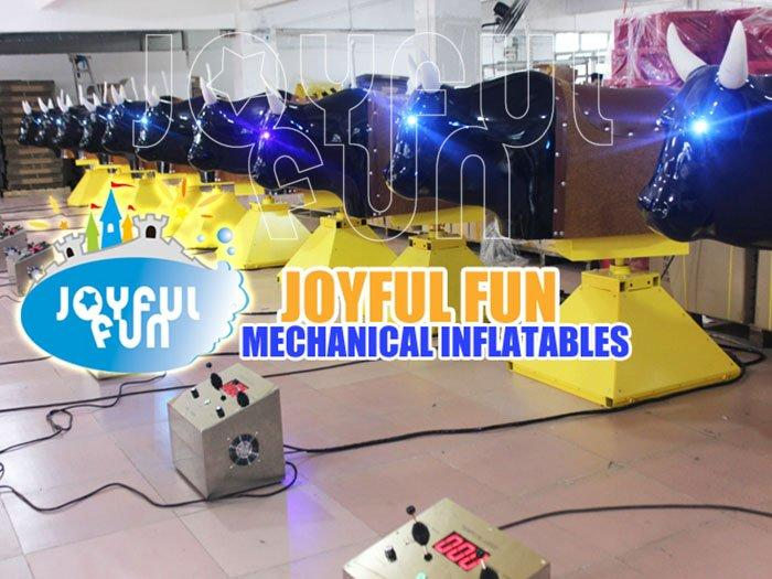 Commercial High Quality Inflatable Mechanical Crazy Rodeo Bull