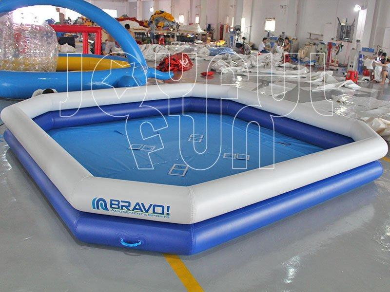 High Quality PVC Tarp Inflatable Double Pipe Pool