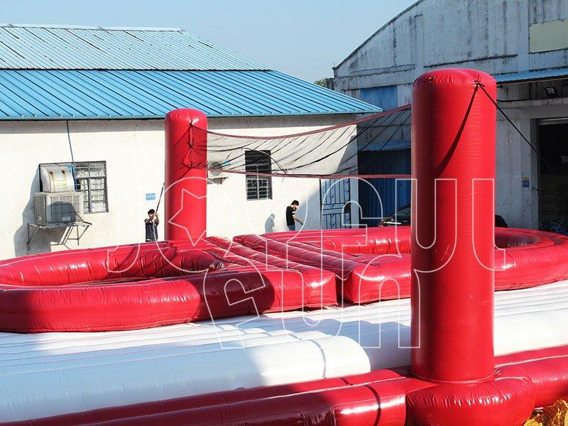 Good Inflatable Sports Game Trampoline Volleyball Court