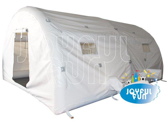 White Big Airtight Arch Dome Inflatable Camp Tent