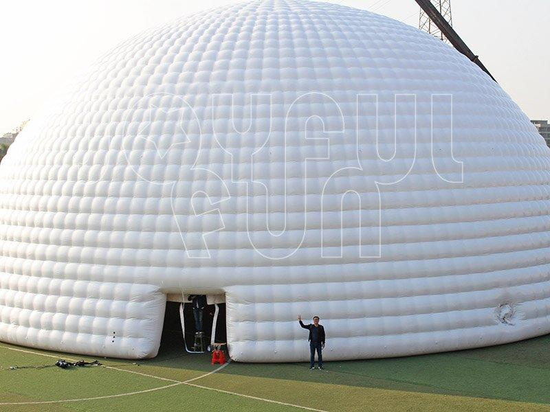 White Giant Inflatable Dome Structure Event Tent