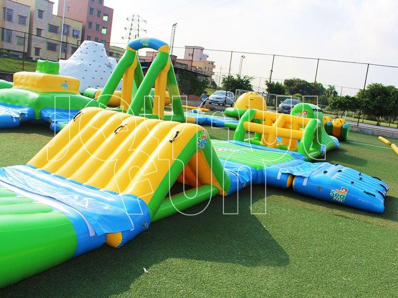High Quality Commercial Classic Aqua Inflatable Water Park