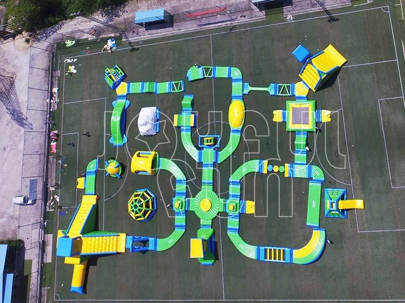 New Functions Joyful Fun Open Water Large Inflatable Water Aqua Park