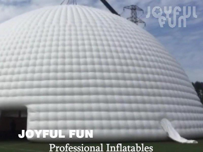 Joyful Fun Super Airtight Inflatable Air Dome Tent