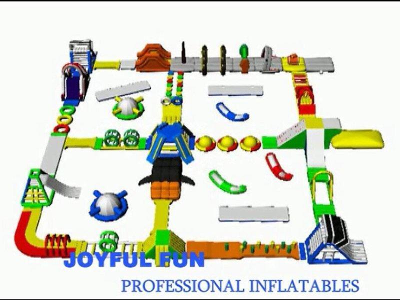 Joyful Fun Good Quality Large Inflatable Water Park