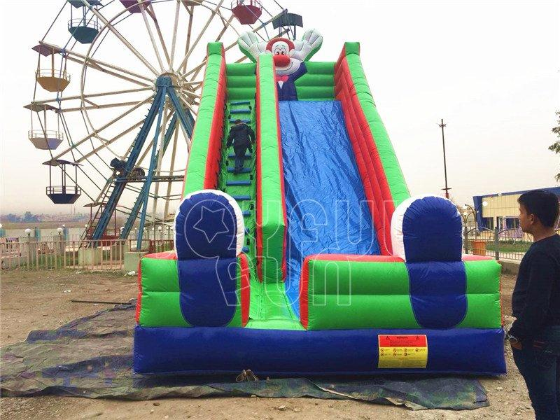 Joyful Fun Inflatable Slides for Iraqi Park