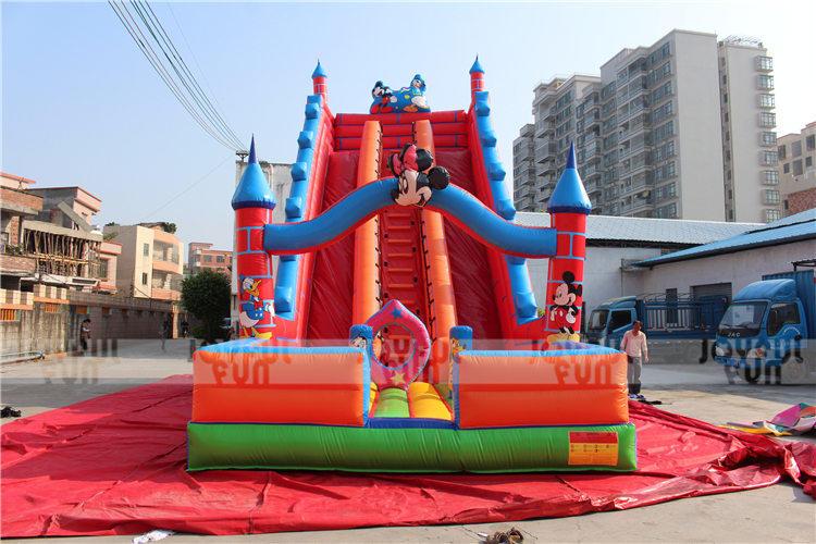 Joyful Fun Inflatable Slides for Iraqi Park