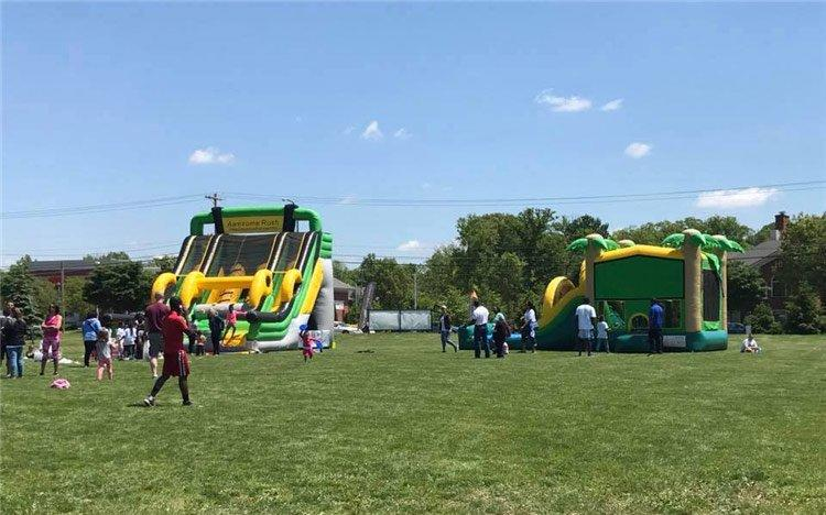 Joyful Fun Inflatable Customization for USA Event Company