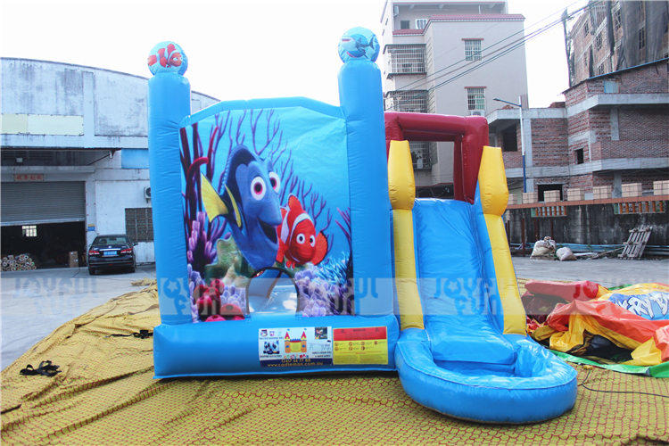 Joyful Fun Good Service on Providing Inflatable Bouncer Combo