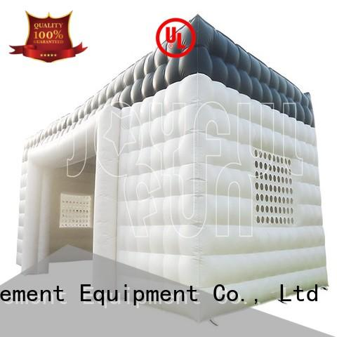 Joyful Fun inflatable cube tent design for park