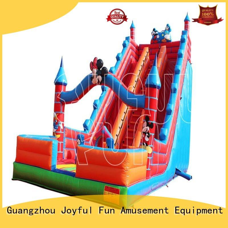 Joyful Fun mickey giant inflatable slide customized for outdoor
