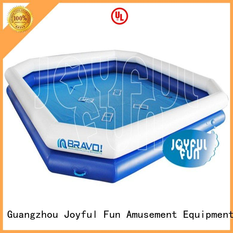 Joyful Fun tarp inflatable pool for adults personalized for kids