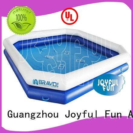 sturdy large inflatable swimming pool pvc supplier for outdoor