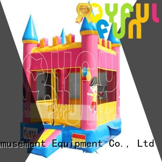 Joyful Fun quality inflatable jump house series for lake