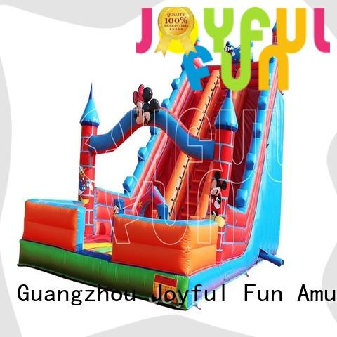 Joyful Fun durable inflatable slide factory from China for kids