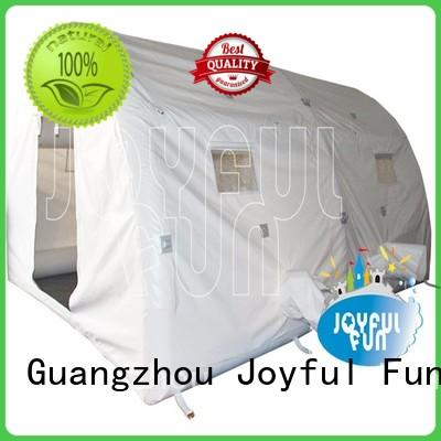Joyful Fun camp inflatable air dome personalized for park