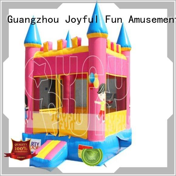 Joyful Fun practical inflatable jump house manufacturer for park