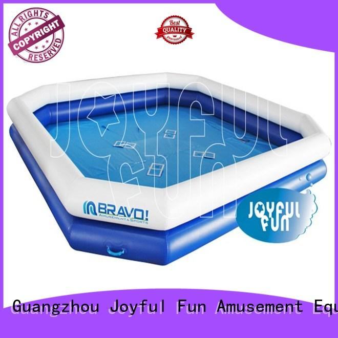 Joyful Fun double huge inflatable pool wholesale for park