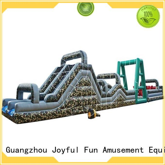 reliable inflatable course boot customized for park