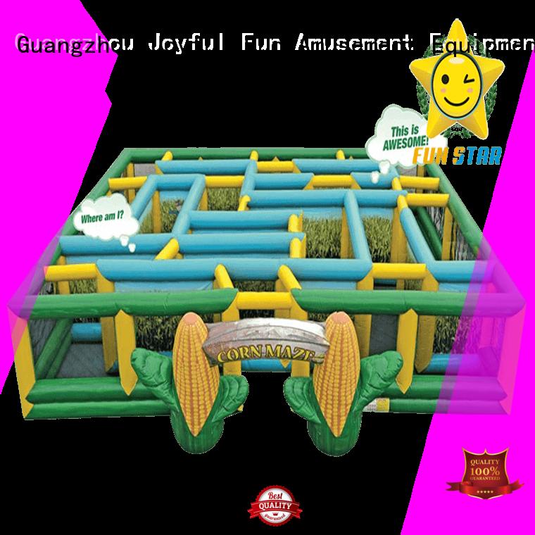 Joyful Fun inflatable maze factory for children