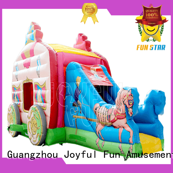 Joyful Fun bouncer inflatablel dry combo for kids