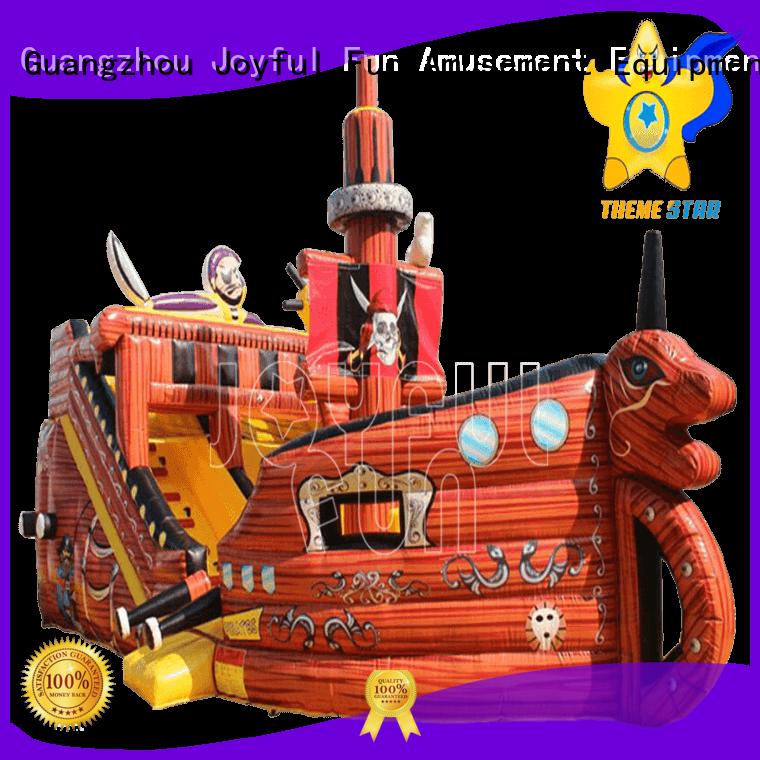 Joyful Fun castle inflatable fun city factory price for outdoor