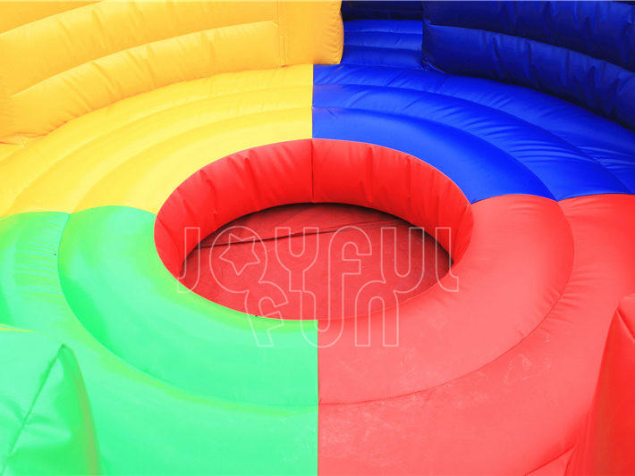 Good Quality Mechanical Inflatable Dizzy X Interactive Running Challenge Game