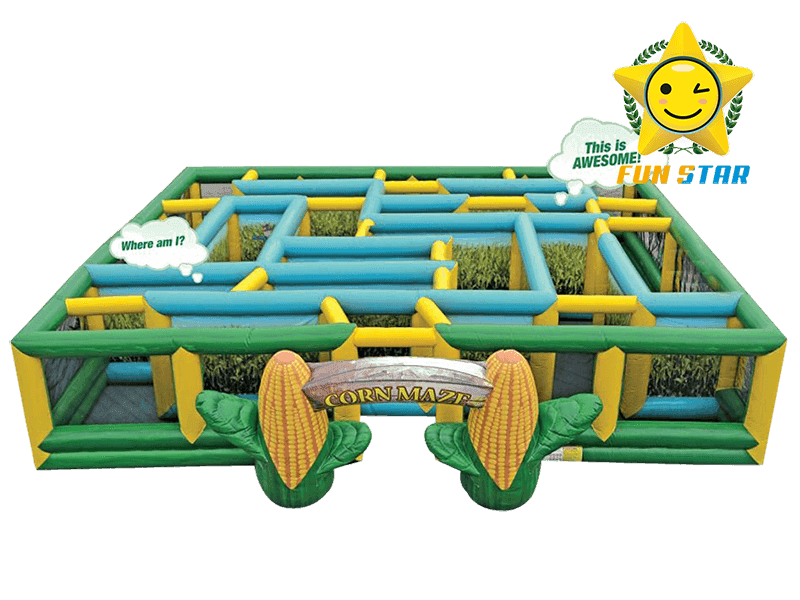 Good Quality Inflatable Corn Maze