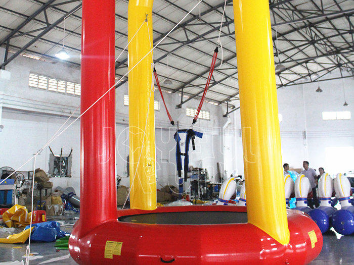 Joyful Fun Good Airtight Inflatable Bungee Trampoline