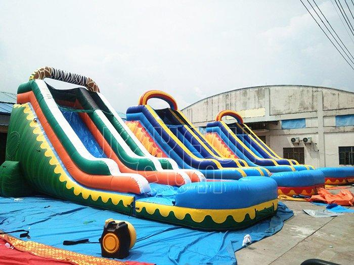 Good OEM factory for inflatable water slide toy