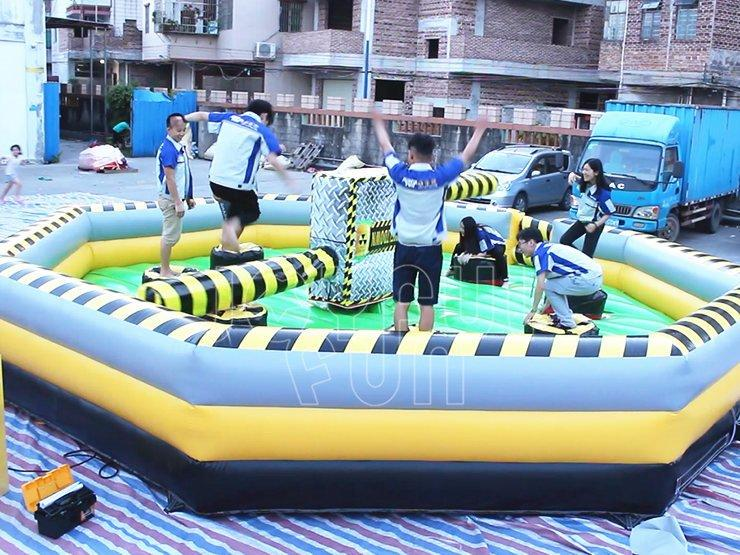 Joyful Fun Good Mechanical Inflatable Meltdown