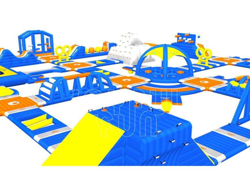 Joyful Fun NEW Multi Functions Inflatable Water Aqua Park