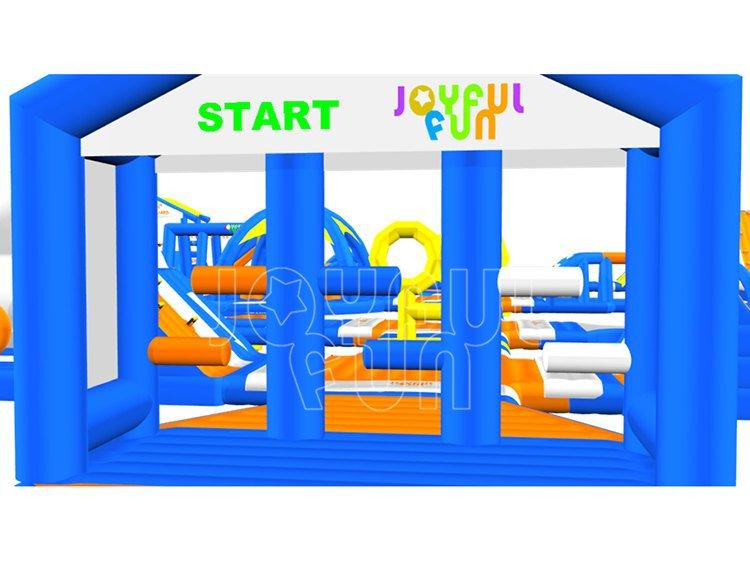 Joyful Fun NEW Multi Functions Inflatable Water Aqua Park