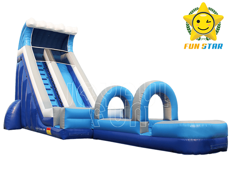 High-end Quality Medium Size Inflatable Water Slide with water proof slip