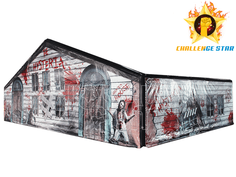 Halloween Horror Show Room Inflatable House Maze