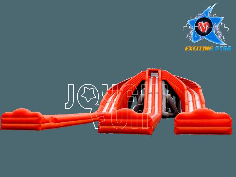 Super 3 Slide Slips Hippo Inflatable Water Slide
