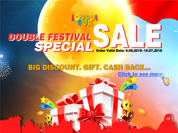 Joyful Fun Inflatable Toys SEP. Sales Promotion. Special Sale in Limited Time
