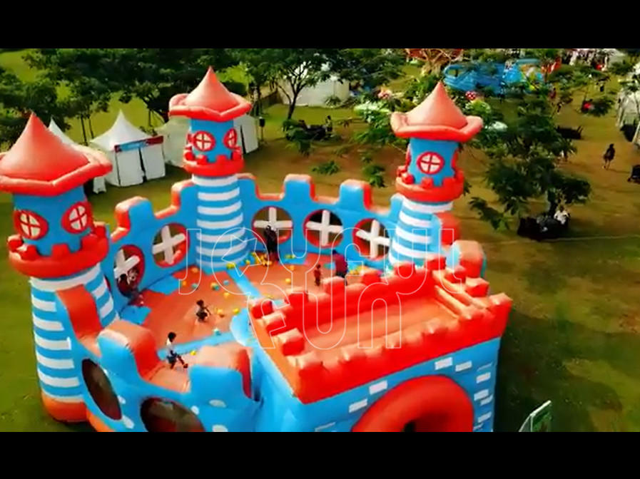 Joyful Fun OEM Supply Inflatable Theme Park