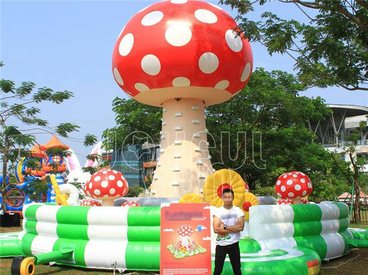 Joyful Fun Supply Theme Park Brand Inflatable Toys Park