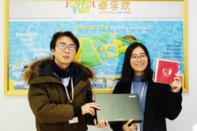 Joyful Fun Toys Inflatables 2018 Year-end Meeting