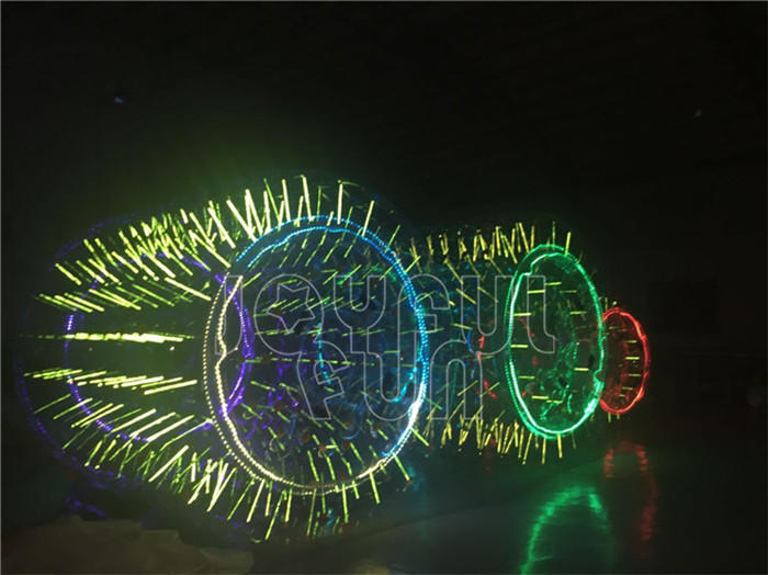 LED Inflatable Water Roller